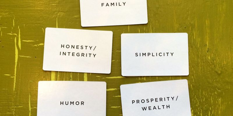 cards-showing-personal-values